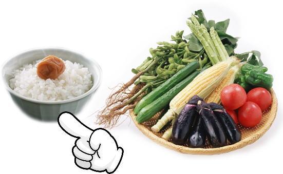 食物繊維 御飯